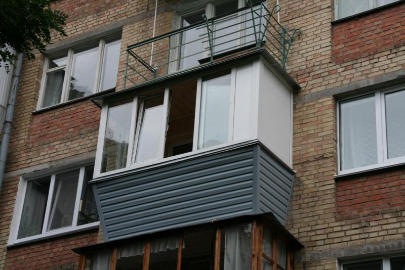 Балконы евро фото.